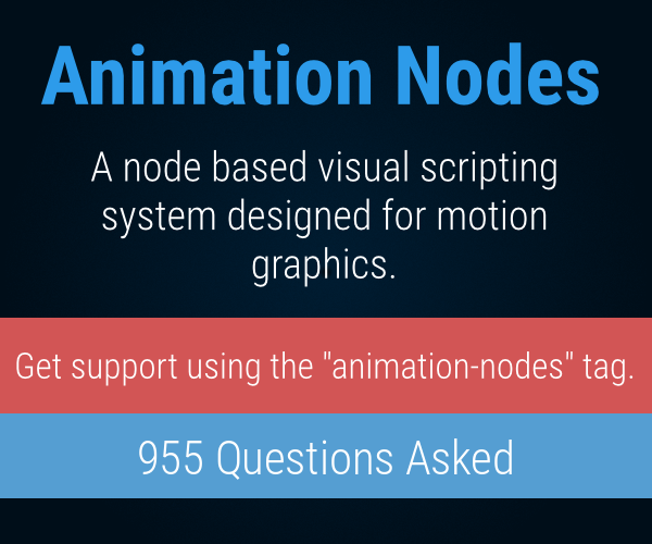 Animation Nodes
